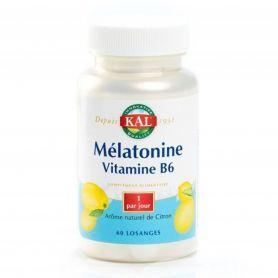 Mélatonine 1,9mg + Vit. B6 60 losanges sublinguaux